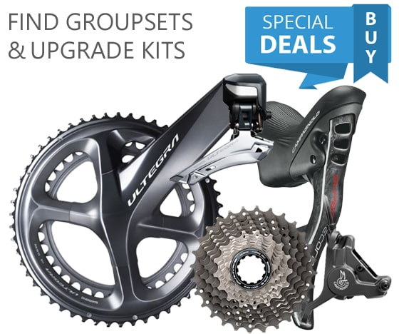 Score Our Best Prices on Groupsets, Wheelsets and More
