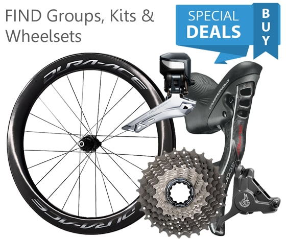 Score Our Best Prices on Campagnolo, Shimano, Sram Groupsets and More